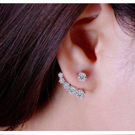 Women's Shiny Stud Earrings Earrings