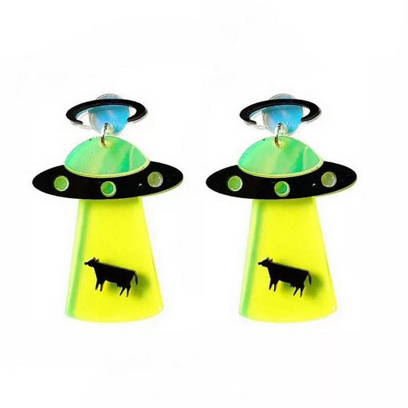 Colorful Acrylic Earrings for Women