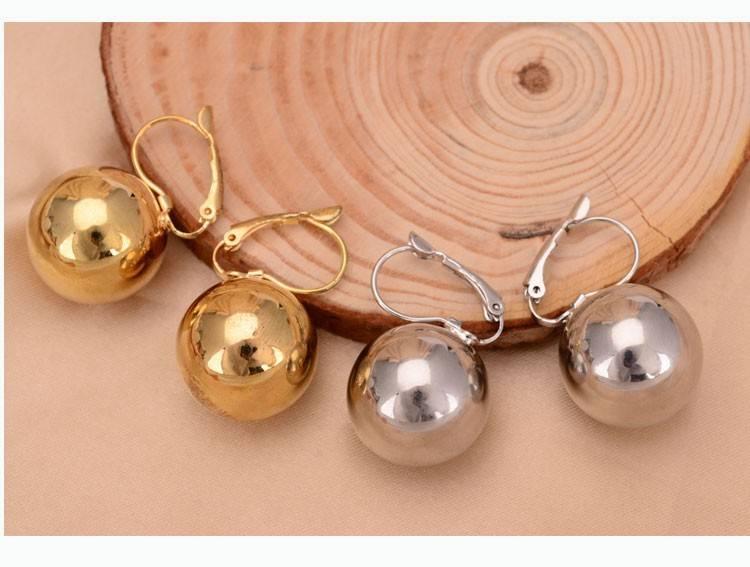 Fashion Unisex Zinc Alloy Drop Earrings Earrings cb5feb1b7314637725a2e7: Gold|Silver