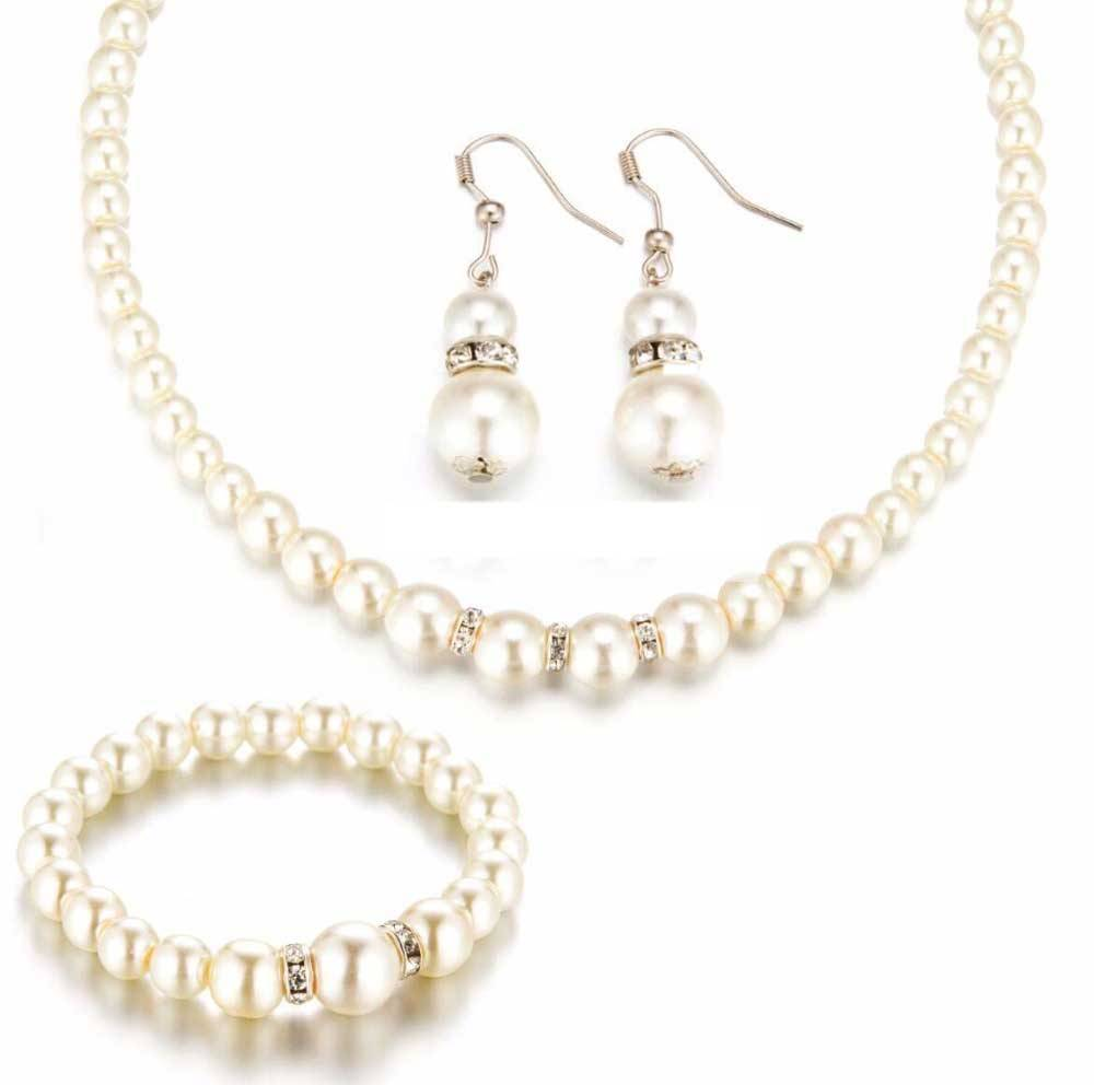 Women's Romantic Pearl Jewelry Set Jewelry Sets