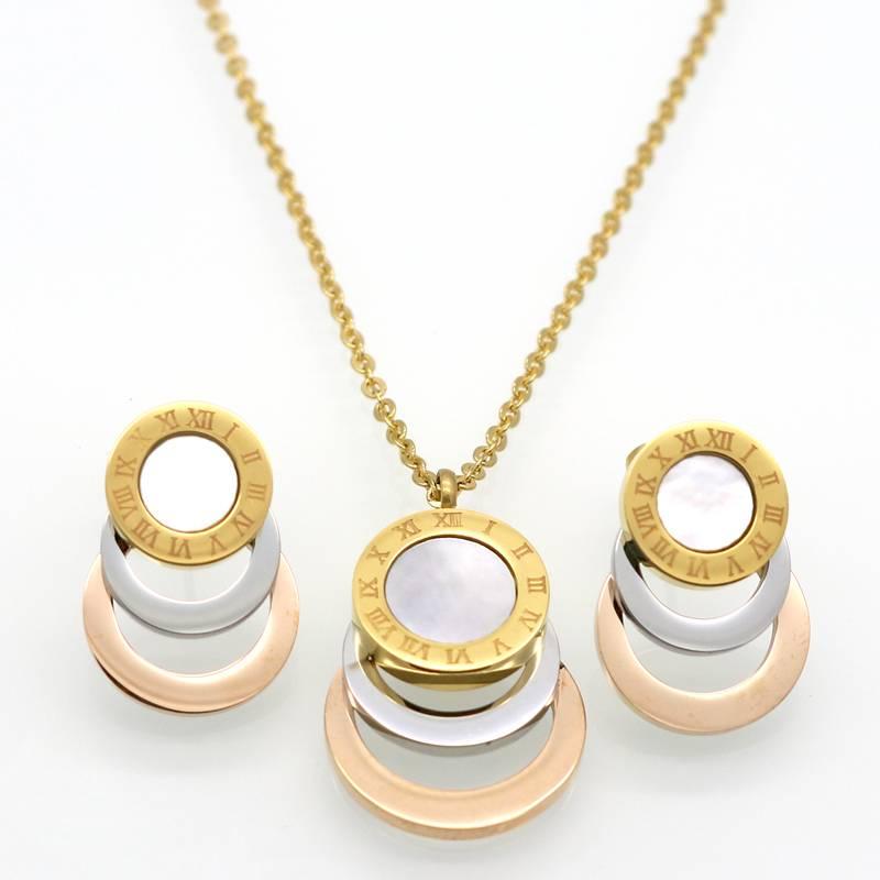 Women's Stylish Jewelry Set Jewelry Sets a4a426b9b388f11a2667f5: Black|White