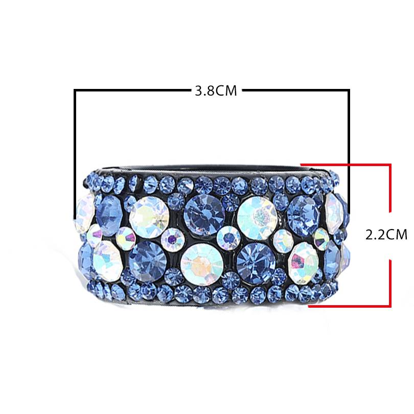 Crystal Hair Clip for Women Hair Jewelry cb5feb1b7314637725a2e7: as show Champagne Gray Lavender Multi Pink Red Sky Blue White