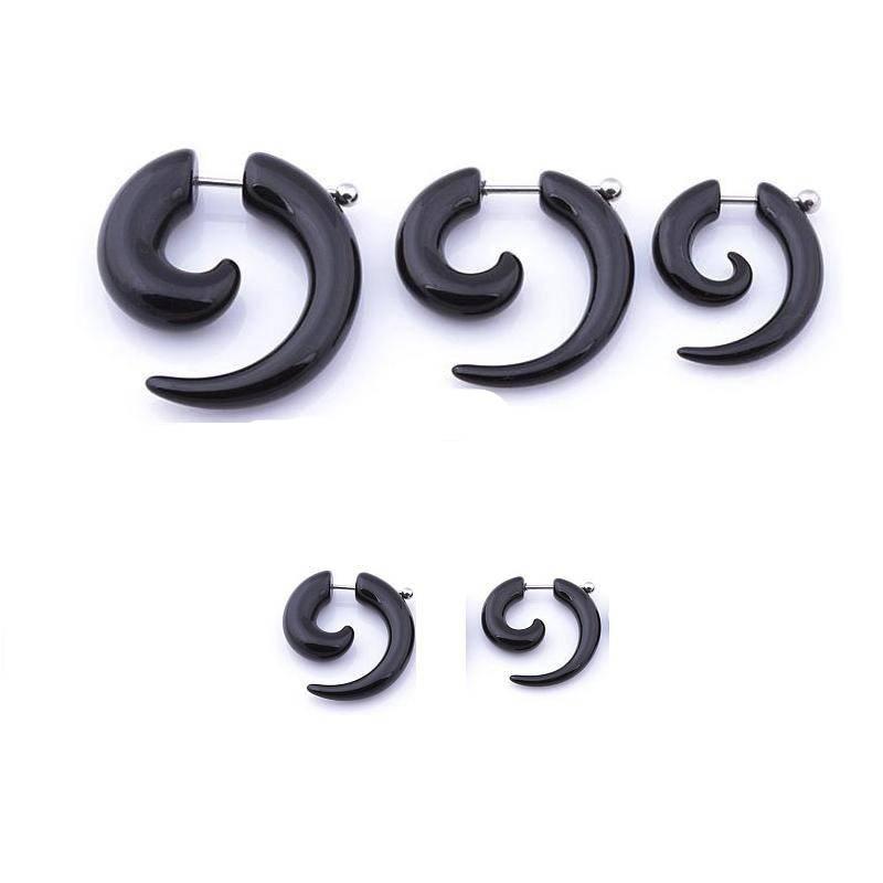 Horns Style Men's Earrings Pinchers & Spirals 8d255f28538fbae46aeae7: 0.3 cm/ 0.1 inch|0.4 cm/ 0.2 inch|0.5 cm/ 0.22 inch|0.6 cm/ 0.24 inch|0.8 cm/ 0.3 inch|2 x 0.3 cm/ 0.1 inch|2 x 0.4 cm/ 0.2 inch|2 x 0.5 cm/ 0.22 inch|2 x 0.6 cm/ 0.24 inch|2 x 0.8 cm/ 0.3 inch|5 x Earrings Set