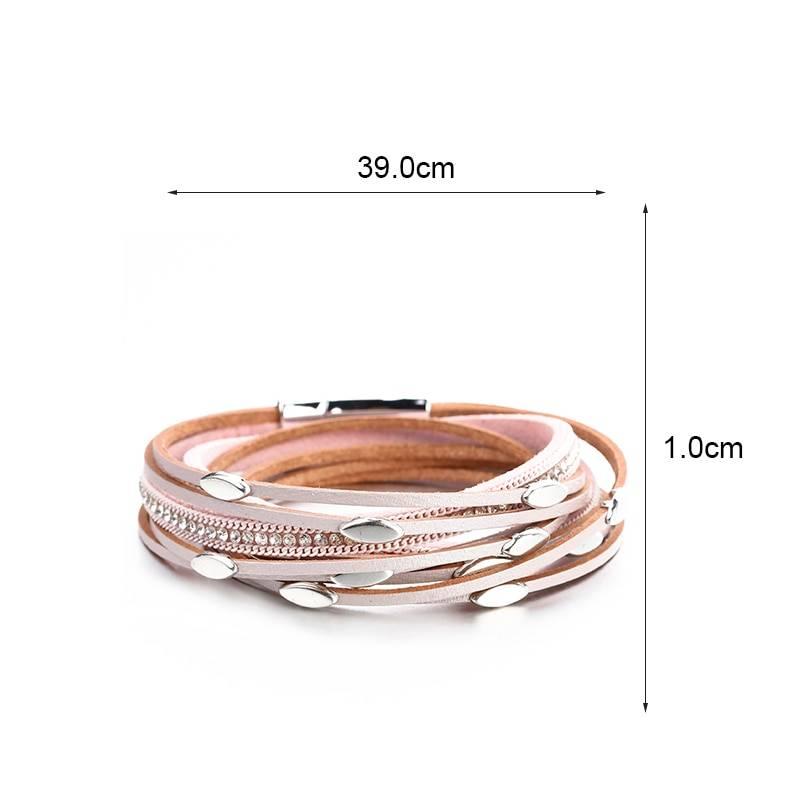 Women's Boho Multilayered Wrap Bracelet