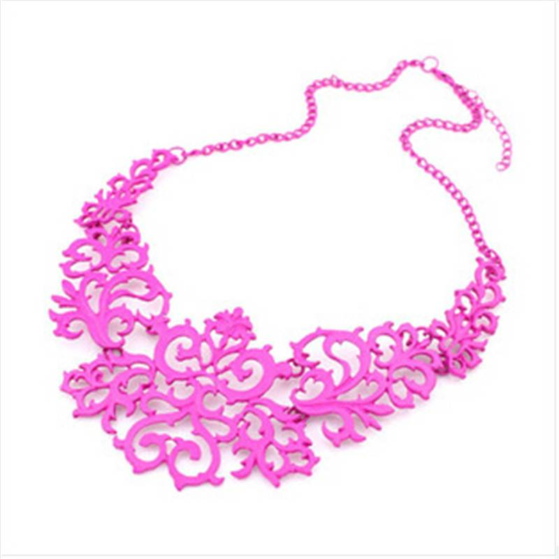 Women's Antique Style Necklace Necklaces 8d255f28538fbae46aeae7: Black|Gold|pink|Silver