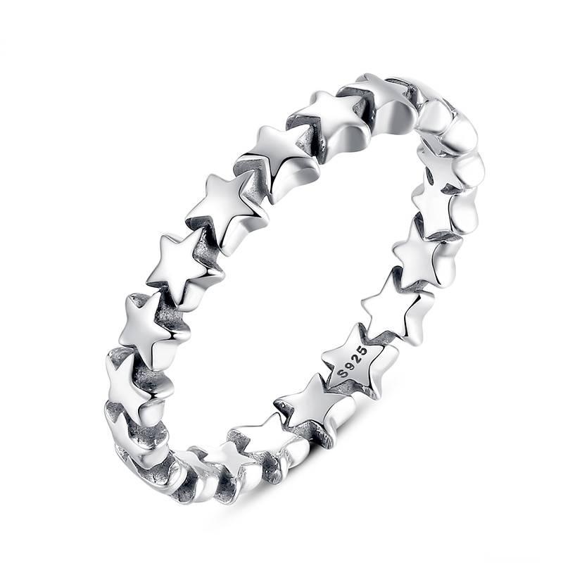 Women's Star Trail Finger Ring Rings 2ced06a52b7c24e002d45d: 6|7|8|9