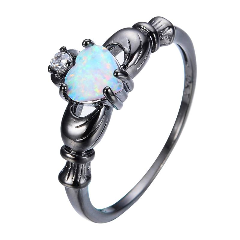 Women's Unique Ring with Opal Rings 2ced06a52b7c24e002d45d: 10|11|5|6|7|8|9