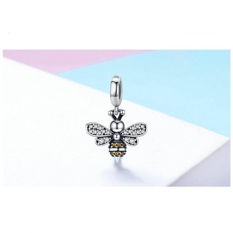 Shiny Crystal Bee Bracelet Charm Charms 1ef722433d607dd9d2b8b7: China|Spain