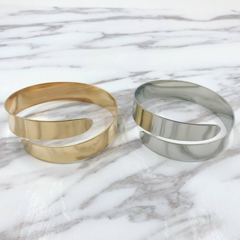 Adjustable Women's Cuff Bracelets Bracelets 8d255f28538fbae46aeae7: Gold|Silver