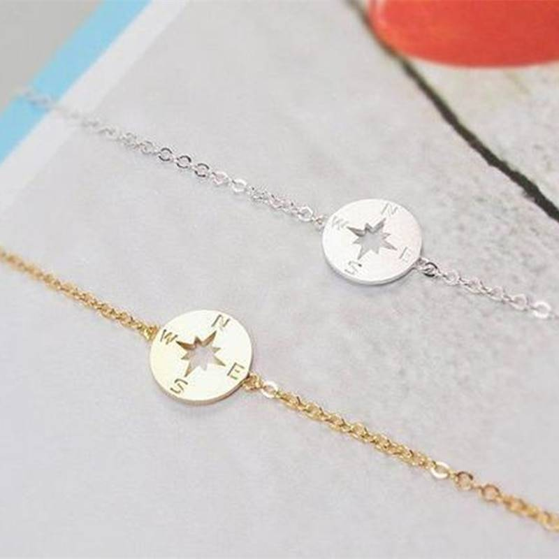 Compass Designed Bracelets for Women Bracelets 8d255f28538fbae46aeae7: Gold|Rose Gold|Silver