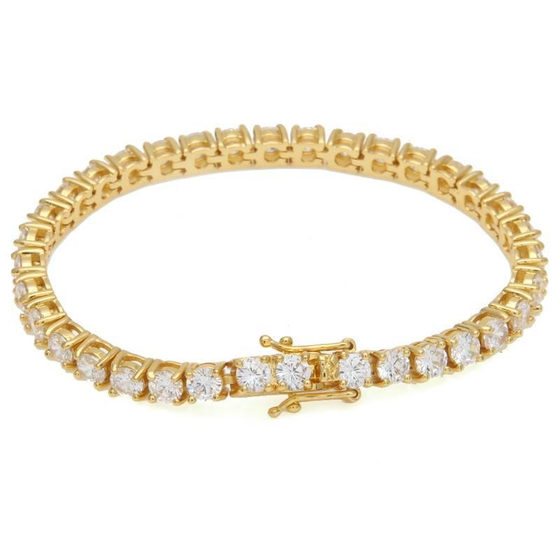 Men's Iced Out One Row Cubic Zirconia Stones Bracelets Bracelets 264c4f69d65d022775dfd7: 3 mm Gold|3 mm Silver|4 mm Gold|4 mm Silver|5 mm Gold|5 mm Silver