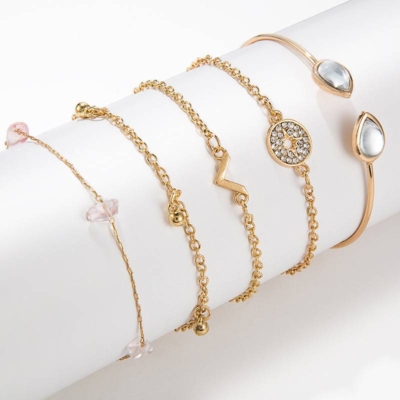 Minimalistic Bangle Bracelets Set Bracelets 345d8eb0454a296ae2a883: Black|Black/Gold|Gold|Gold Set|Gold/Blue|Gold/Pink|Green/Gold|Green/Pink|Heart/Gold|Light Pink|Navy|Navy/Silver|Pink/Gold|Silver