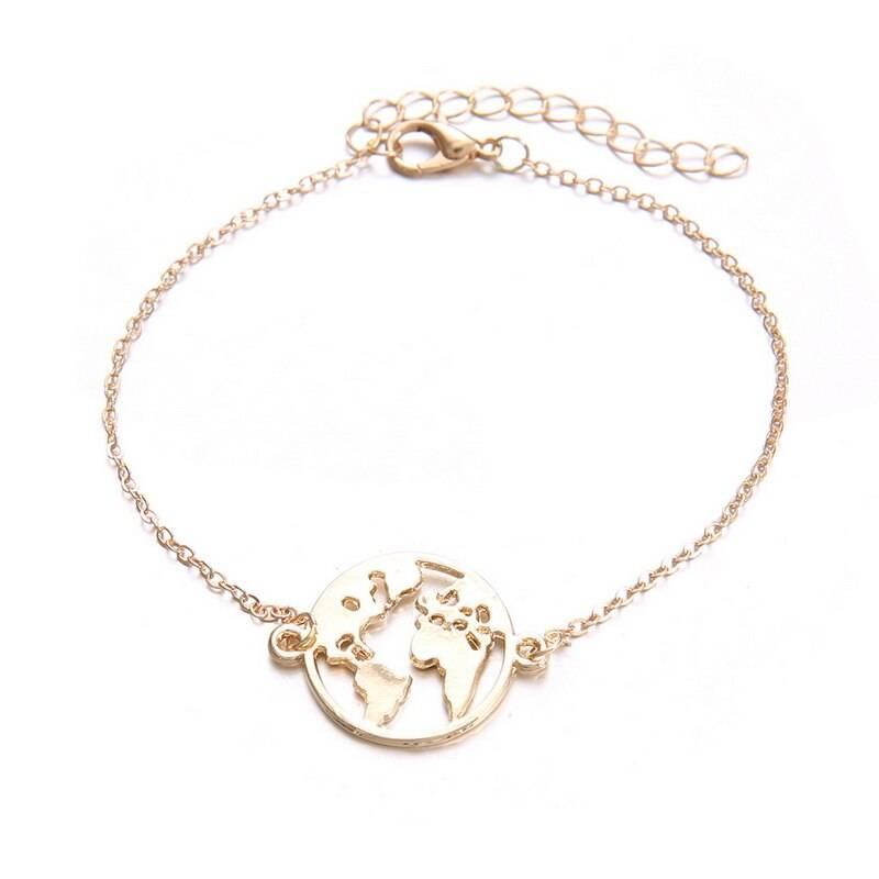 Minimalistic Link Chain Charm Bracelets