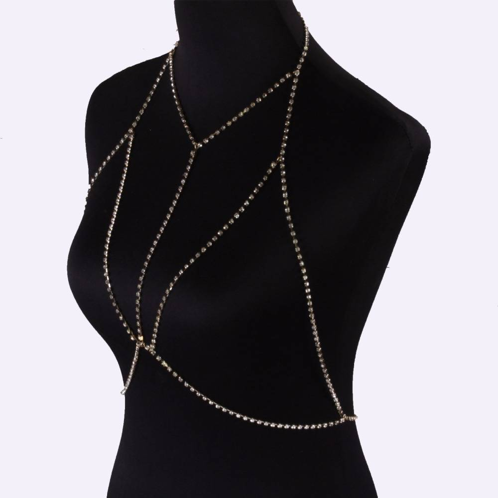 Women's Chain Body Jewelry Body Jewelry 8d255f28538fbae46aeae7: Gold|Silver