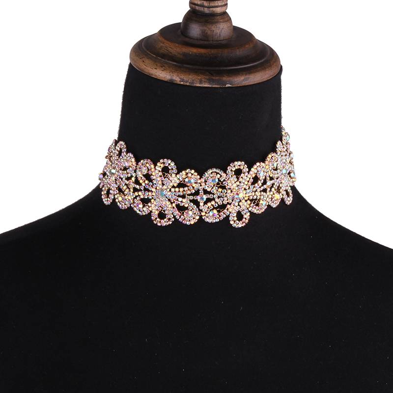 Women's Choker Necklace with Crystal Flowers Chokers & Pendants 1afa74da05ca145d3418aa: 1|2|3|4|5|6