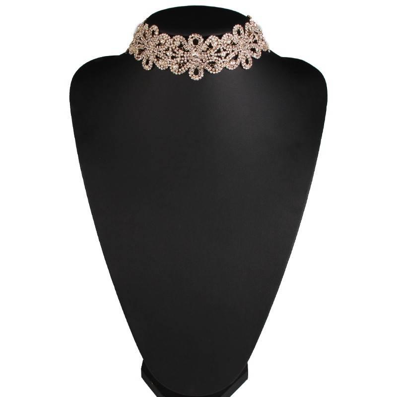 Women's Choker Necklace with Crystal Flowers Chokers & Pendants 1afa74da05ca145d3418aa: 1 2 3 4 5 6
