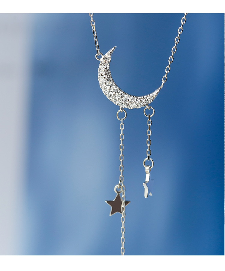 Moon Patterned Necklace
