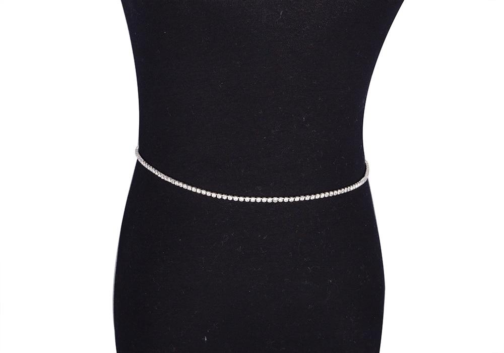 Women's Rhinestone Waist Chain