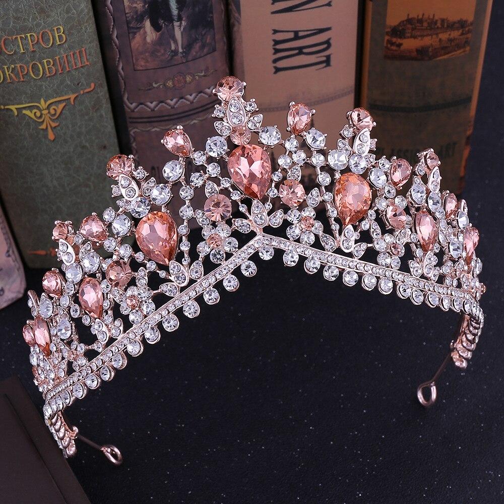 Bridal Tiara in Multiple Variations