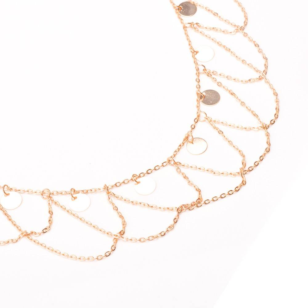 Bohemian Multilayer Waist Body Chain Body Jewelry cb5feb1b7314637725a2e7: Golden|Silver