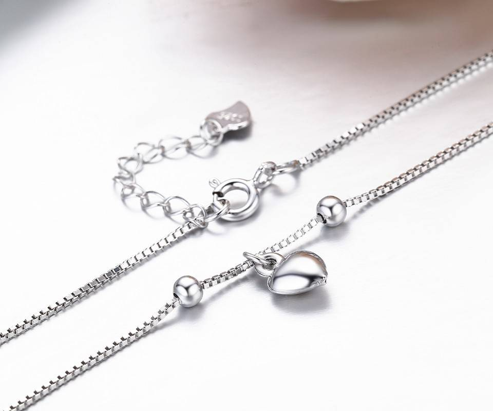 Classic Heart Charms Women's Anklet Anklets