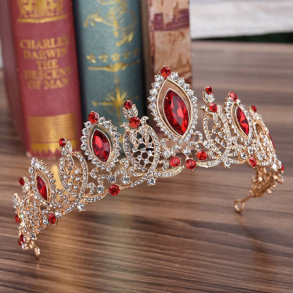 Crystal Zinc Hair Crown Hair Jewelry cb5feb1b7314637725a2e7: Blue|Gold|Red|Silver