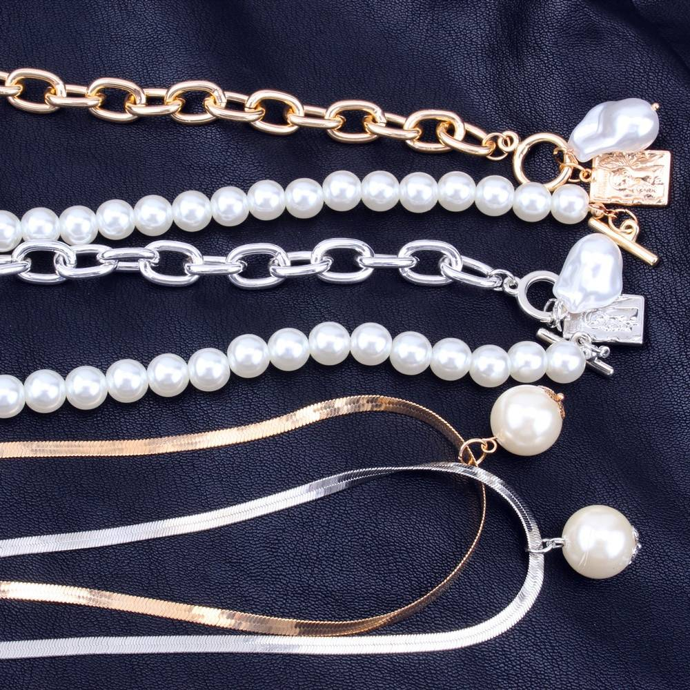 Pearls Decorated Women's Necklace Necklaces ae284f900f9d6e21ba6914: 1|2|3|4|5|6