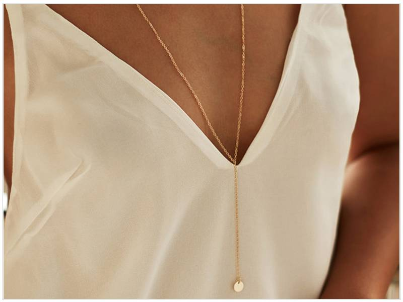 Round Multilayer Chain Necklaces
