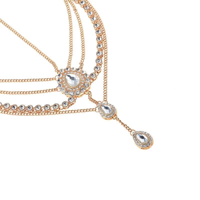 Women's Boho Style Head Chain Hair Jewelry cb5feb1b7314637725a2e7: Gold|Silver