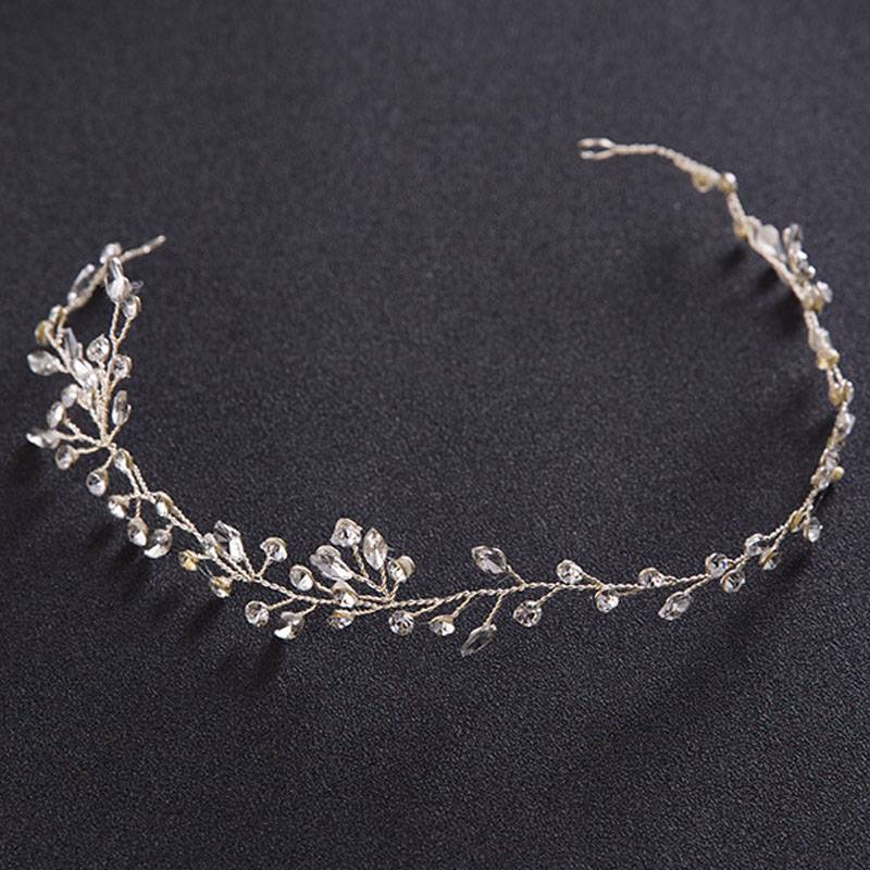 Women's Crystal Branch Headband Hair Jewelry