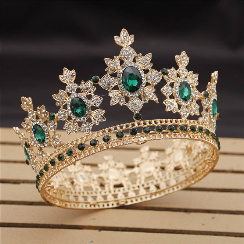 Women's Crystals Decorated Tiara