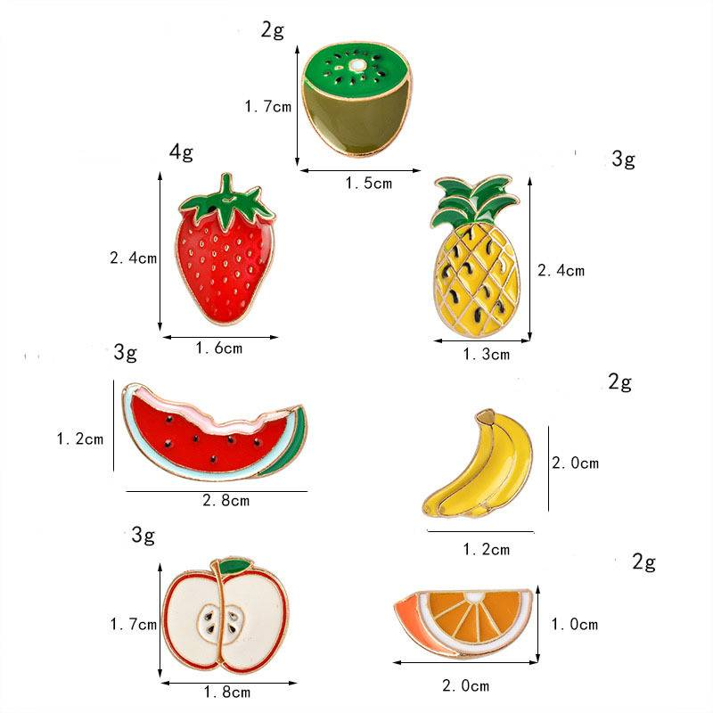 Women's Fruits Shaped Brooches