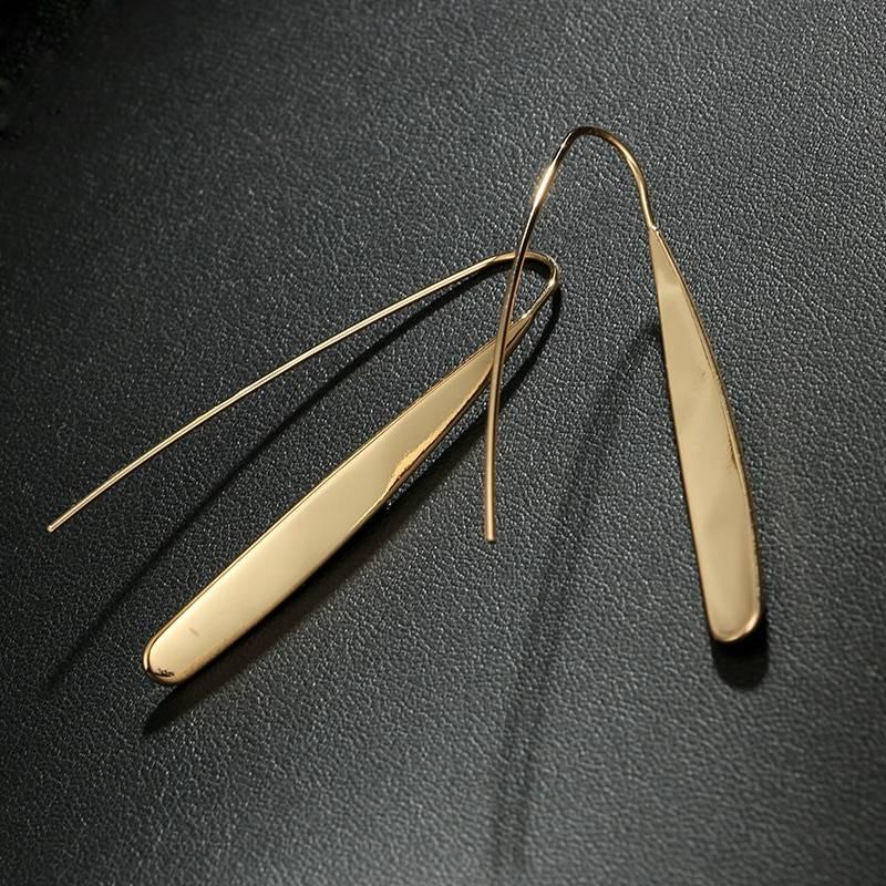 Women's Geometric Drop Earrings Earrings 8d255f28538fbae46aeae7: Gold|Silver