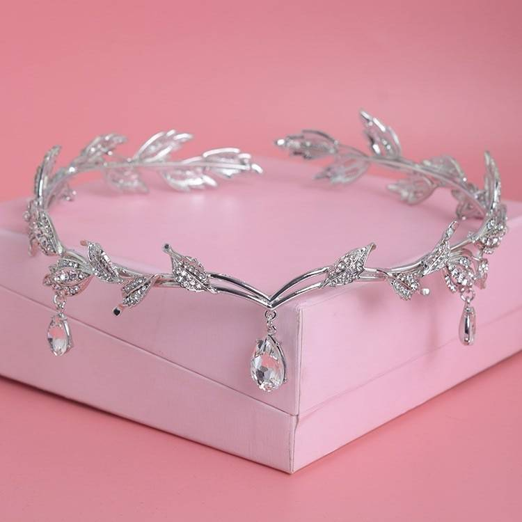 Women's Luxury Crystal Crown Hair Jewelry cb5feb1b7314637725a2e7: Gold|Rose Gold|Silver