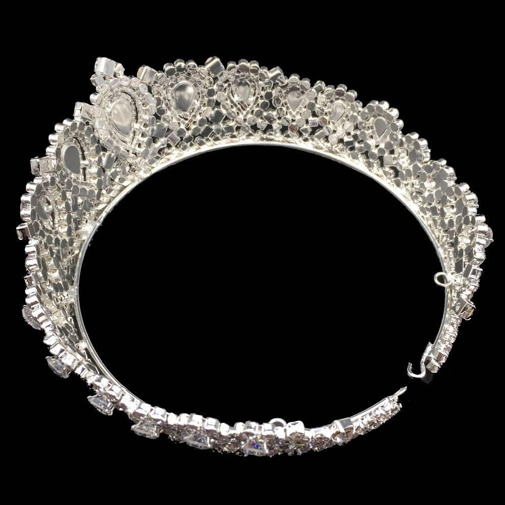 Women's Luxury Tiara Hair Jewelry 8d255f28538fbae46aeae7: Gold|Rose|Sliver