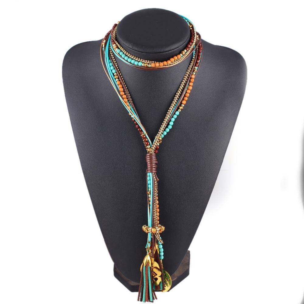 Women's Maxi Boho Necklace Necklaces cb5feb1b7314637725a2e7: 1|2|3