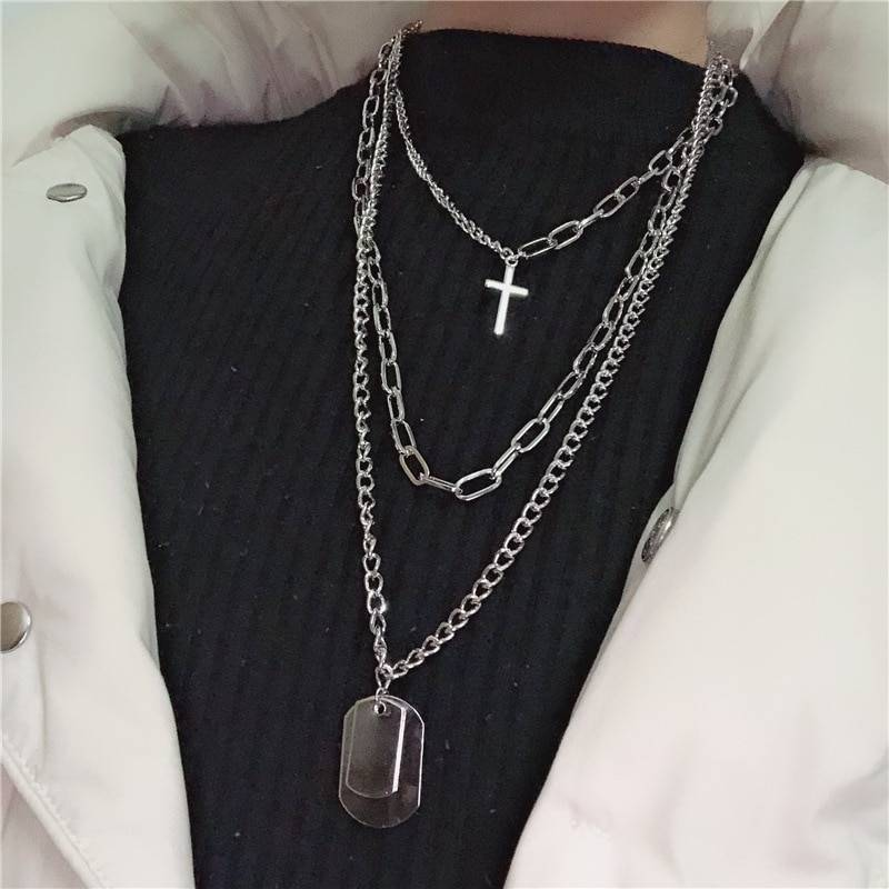 Women's Multilayer Chains Necklaces