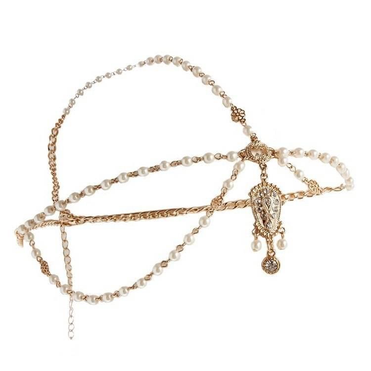 Women's Pearl Hair Jewelry Hair Jewelry cb5feb1b7314637725a2e7: Red|White