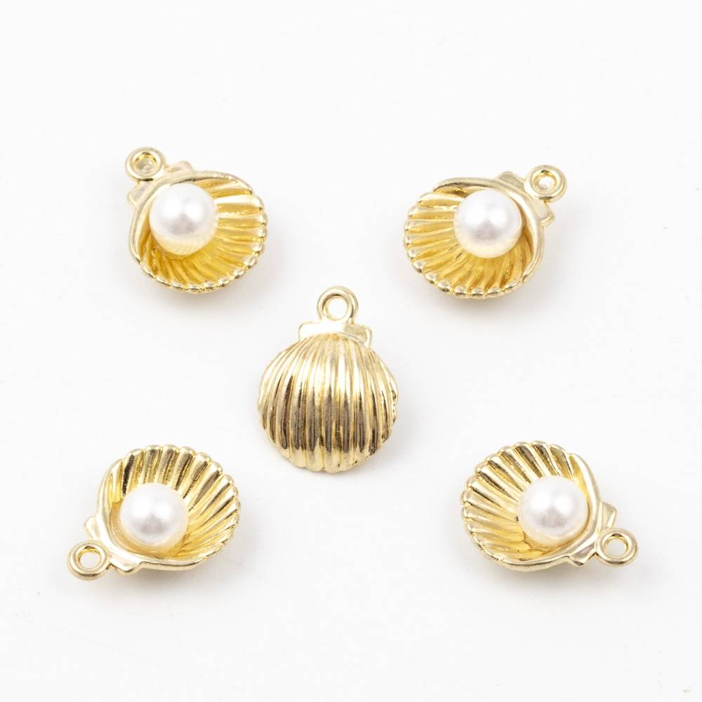 Women's Seashell Shaped Charms Set Charms cb5feb1b7314637725a2e7: M601 silver|M602 golden|M603 mix