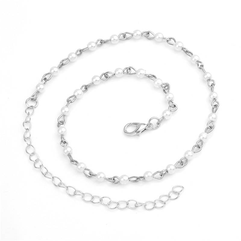 Women's Simulated Pearl Choker Necklaces