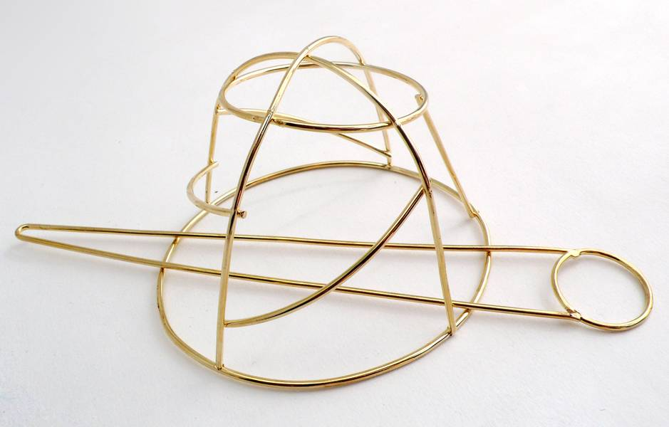 Women's Vintage Bun Cage Hair Jewelry Hair Jewelry cb5feb1b7314637725a2e7: Gold
