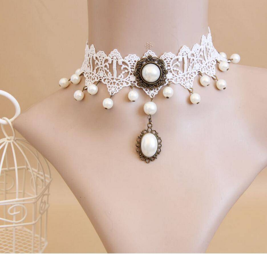 Women's Vintage Lace Choker Necklaces