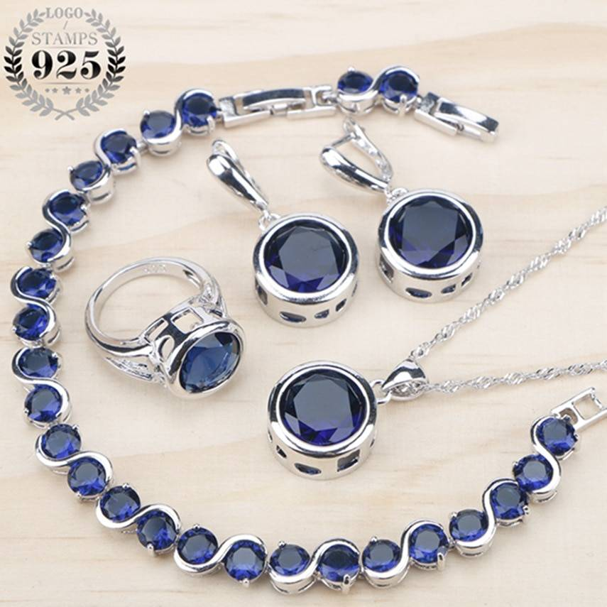 Silver 925 Jewelry Sets for Women