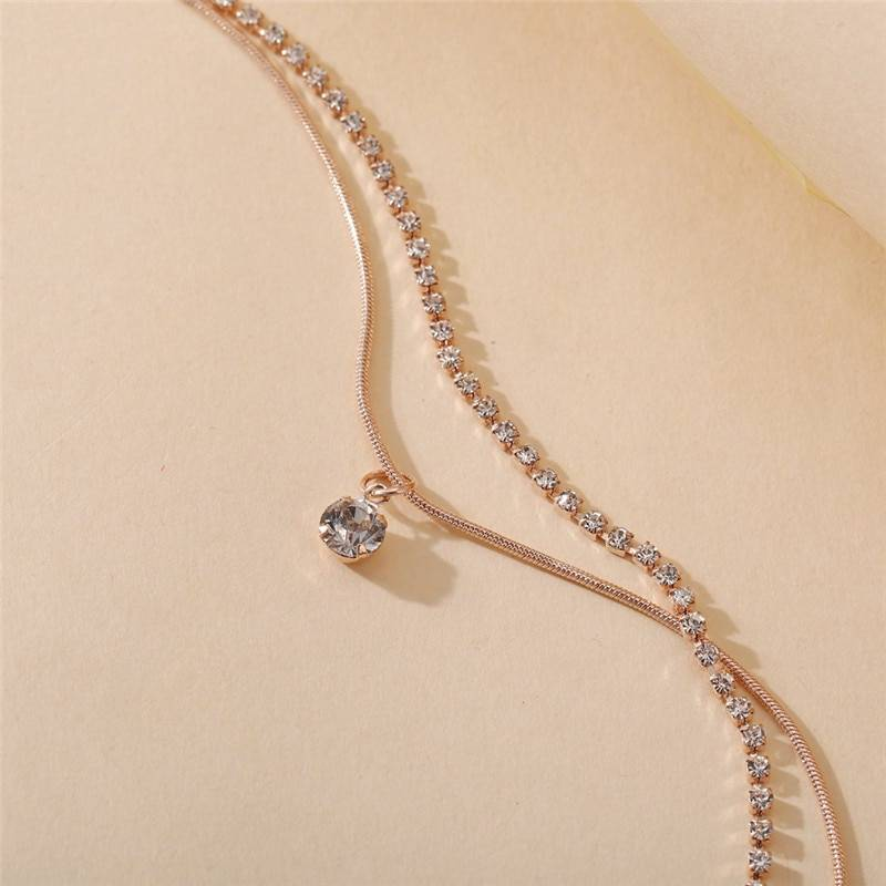 Anklet with Bohemian Style Beads