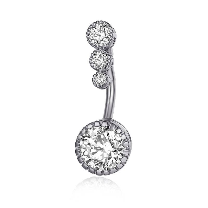 Crystal Cute Piercing for Women Body Jewelry 8d255f28538fbae46aeae7: Gold|Rose Gold|Silver