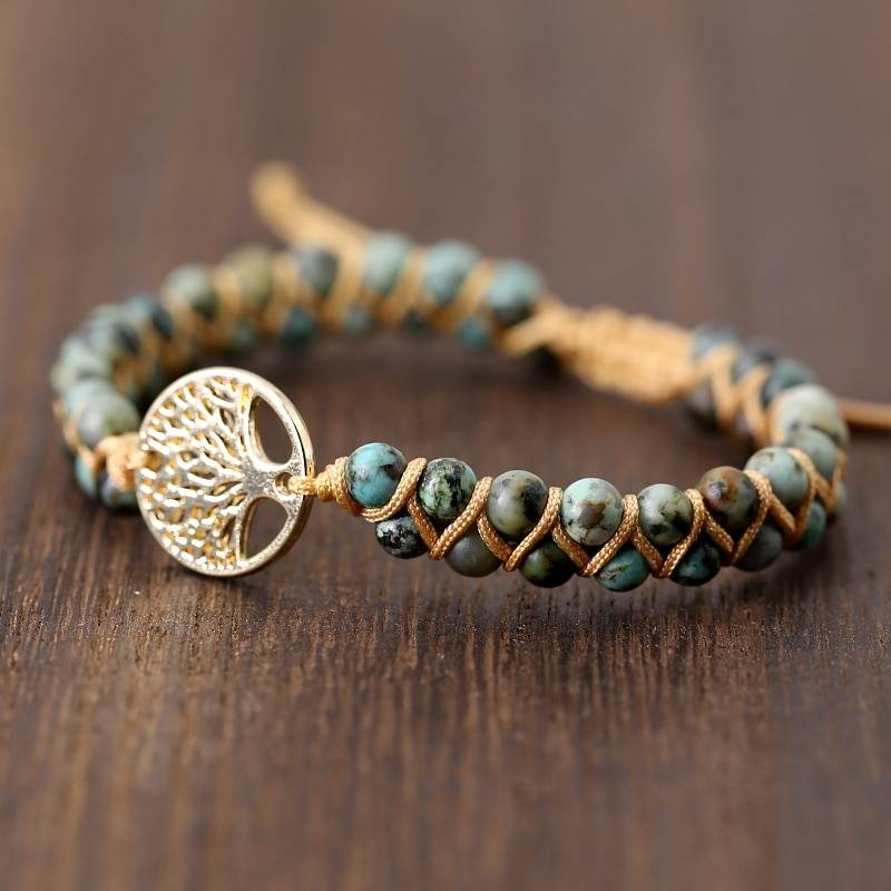Vintage Leather Bracelet with Natural Stone Bracelets 1ef722433d607dd9d2b8b7: Inside US|Outside US