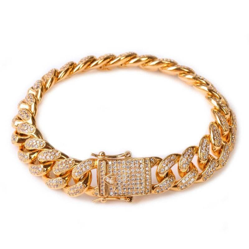 Women's Gold Chain Bracelet Bracelets 8d255f28538fbae46aeae7: Gold|Rose Gold|Silver