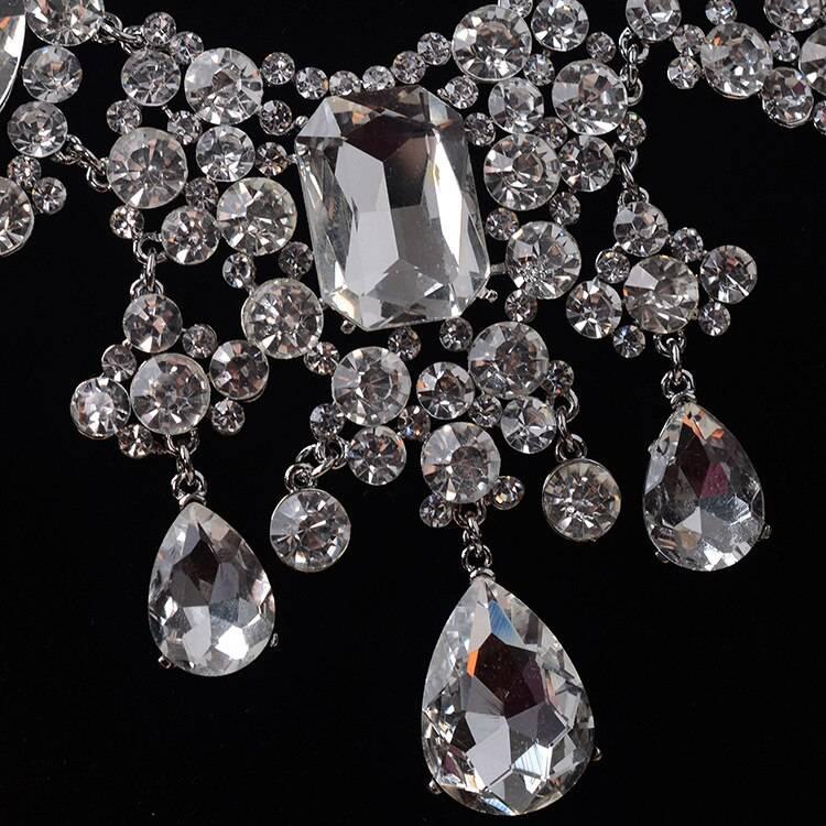 Women's Luxury Water Drop African Crystal Jewelry Set