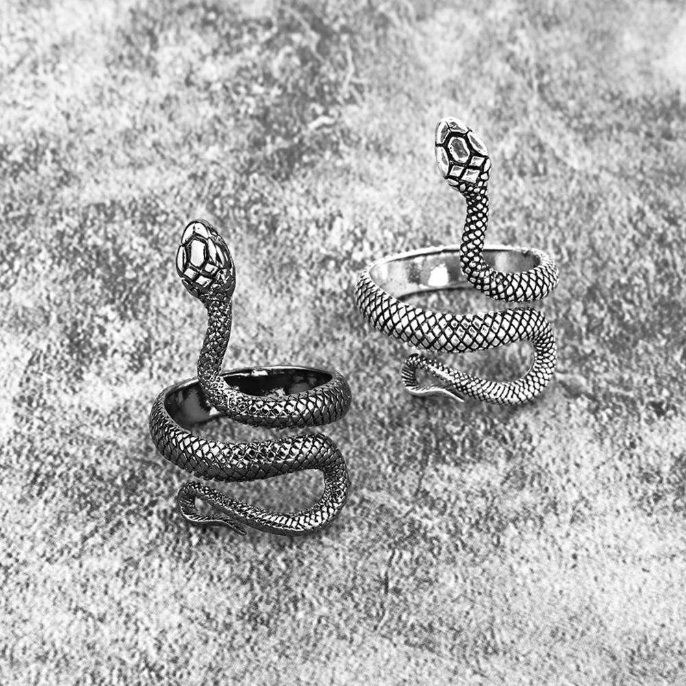 Women's Snake Shaped Adjustable Ring Rings a1fa27779242b4902f7ae3: 1|2|3|4|5|6|7|8|9