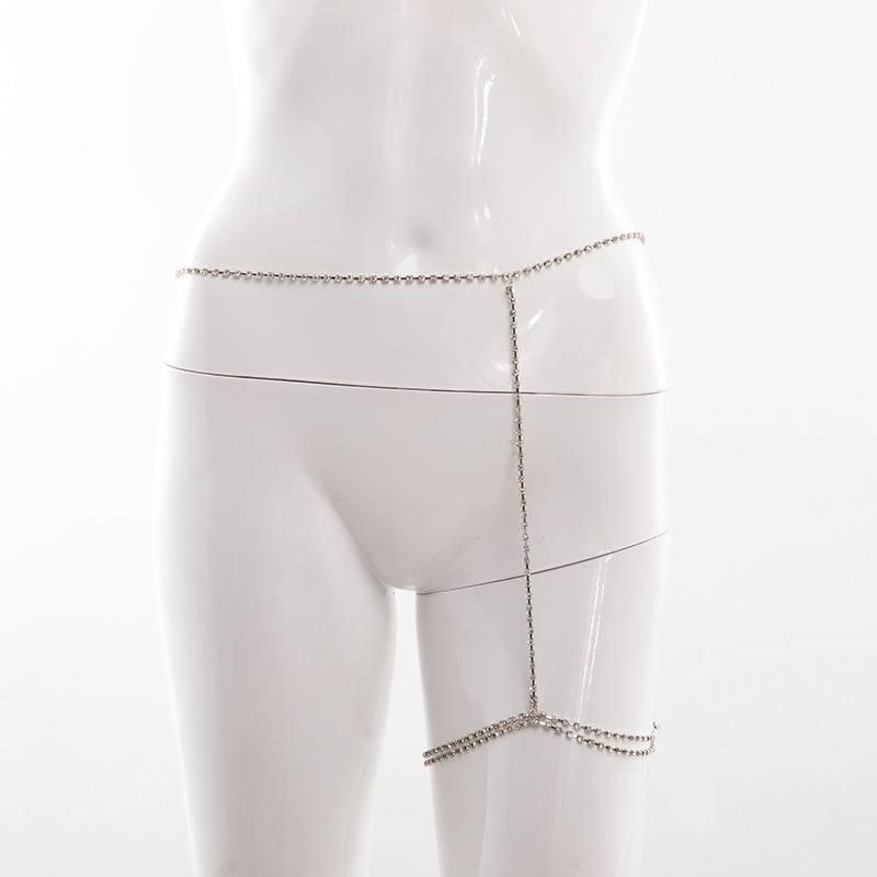 Women's Rhinestone Leg Chain